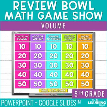 5th Grade Math Game - Volume