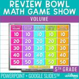 Volume Game Show   5th Grade
