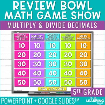 5th Grade Math Game - Multiply & Divide Decimals