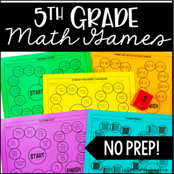 5th Grade Math Games