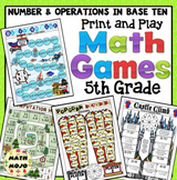 5th Grade Math Games: Number and Operations in Base Ten