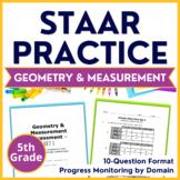5th Grade Math STAAR TEST PREP {Geometry & Measurement} TEKS 5.4H 5.5A 5.6A