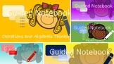 5th Grade Math Interactive Notebook Bundle (All Common Cor