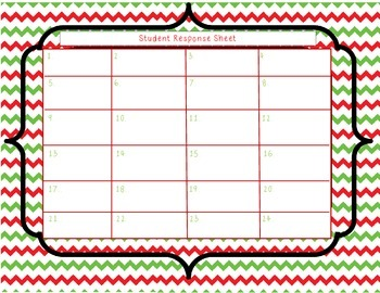 5th Grade Math Holiday Task Cards
