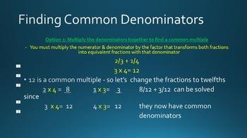 5th Grade Math: Adding Fractions