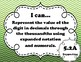 "5th Grade Math ""I Can"" Statements"