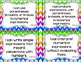 5th Grade Math I Can Statements for CCSS Standards (Rainbow Chevron)