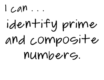 5th Grade Math I Can statements - TEKS standards