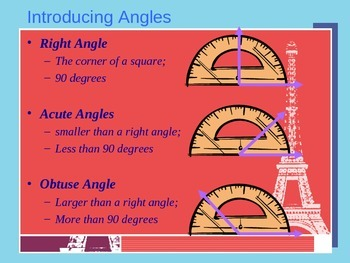 5th Grade Math Instructional PowerPoint Unit - Angles and Triangles