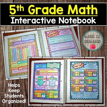 5th Grade Math Interactive Notebook
