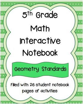 5th Grade Math Interactive Notebook: Geometry