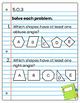 5th Grade Math Interactive Notebook: Geometry Interactive Notebook, Math, 5th