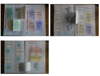 5th Grade Math Interactive Notebook: Whole Numbers NBT.1, NBT.2, NBT.5, NBT.6