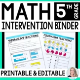 5th Grade Math Intervention Program