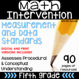 5th Grade Math Intervention Resources Measurement and Data