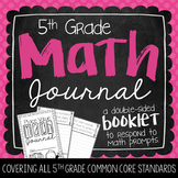 5th Grade Math Journal {Growing Bundle}