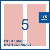 5th Grade Math Journals