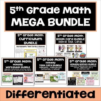5th Grade Math MEGA Bundle