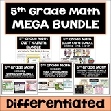 5th Grade Math Bundle - Differentiated Worksheets, Task Ca