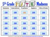 5th Grade Math Madness! Interactive Power Point Presentation