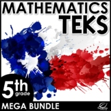 5th Grade Math TEKS Mega Bundle