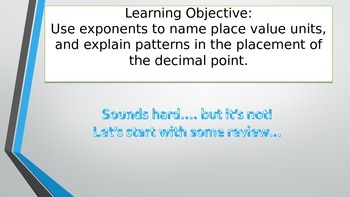 5th Grade Math Module 1 Lesson 3