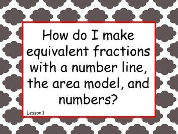 5th Grade Math Module 3 Essential Questions