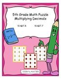5th Grade Math - Multiplying Decimals