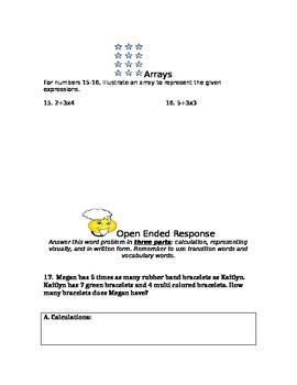 5th Grade Math Order of Operations Test- summative
