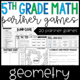 5th Grade Math Partner Games | Geometry Partner Games