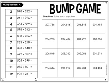 Inventive image pertaining to 5th grade printable math games