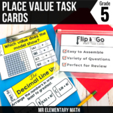 Place Value - 5th Grade Math Task Cards