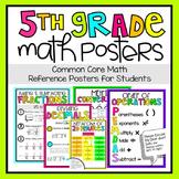 5th Grade Math Posters