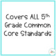 5th Grade Math PowerPoint Bundle for the YEAR