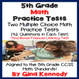 5th Grade Math Practice Test, Great for Any State 5th Grad