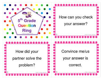 5th Grade Math Question Ring