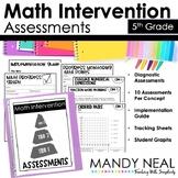 5th Grade Math RTI Assessments