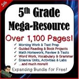 5th Grade Test Prep, Word Work, Morning Work, Guided Readi