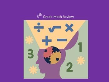 5th Grade Math Review 2