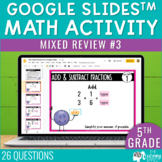 5th Grade Math Review #3 Google Slides™ End of Year | Dist