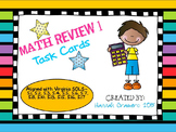 5th Grade Math Review (All Virginia SOLs) Task Card Set 1