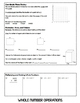 5th Grade Math Review Flipbook (& Back to School Review fo