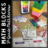 5th Grade Math Review Game - Test Prep