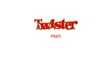 5th Grade Math Review Game Twister