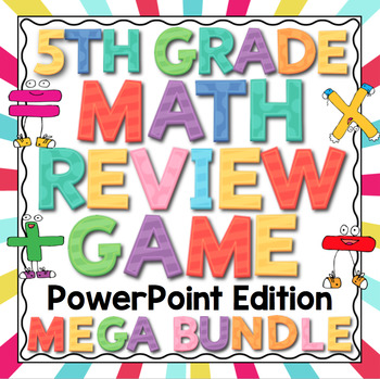5th Grade Math Review - PowerPoint Edition