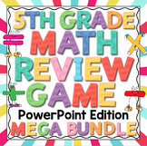 5th Grade Math Review Game Show - PowerPoint Edition