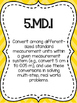 5th Grade Math Review: Quick Assessments – Measurement & Data– 5.MD