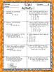 5th Grade Math Review: Quick Assessments–Operations & Alge