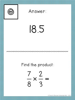 5th Grade Math Review Activity - Scavenger Hunt