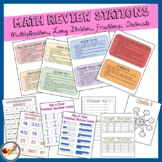 5th Grade Math Review Stations